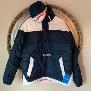 NWT Columbia lodge pullover jacket